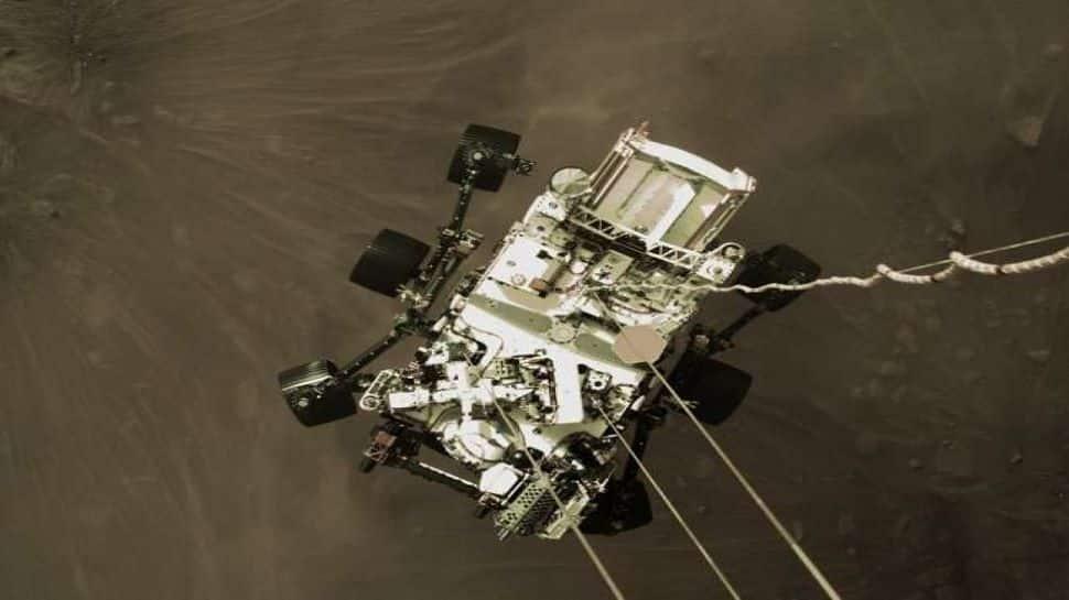 NASA Perseverance Rover Landing Video