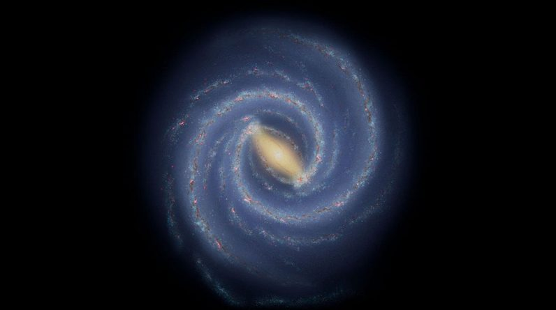 """Scientists have discovered a """"gap"""" in one hand of the Milky Way"""
