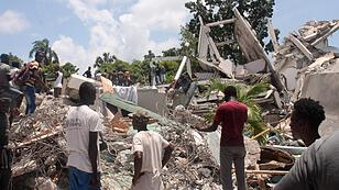 More than 700 people have been killed in an earthquake in Haiti