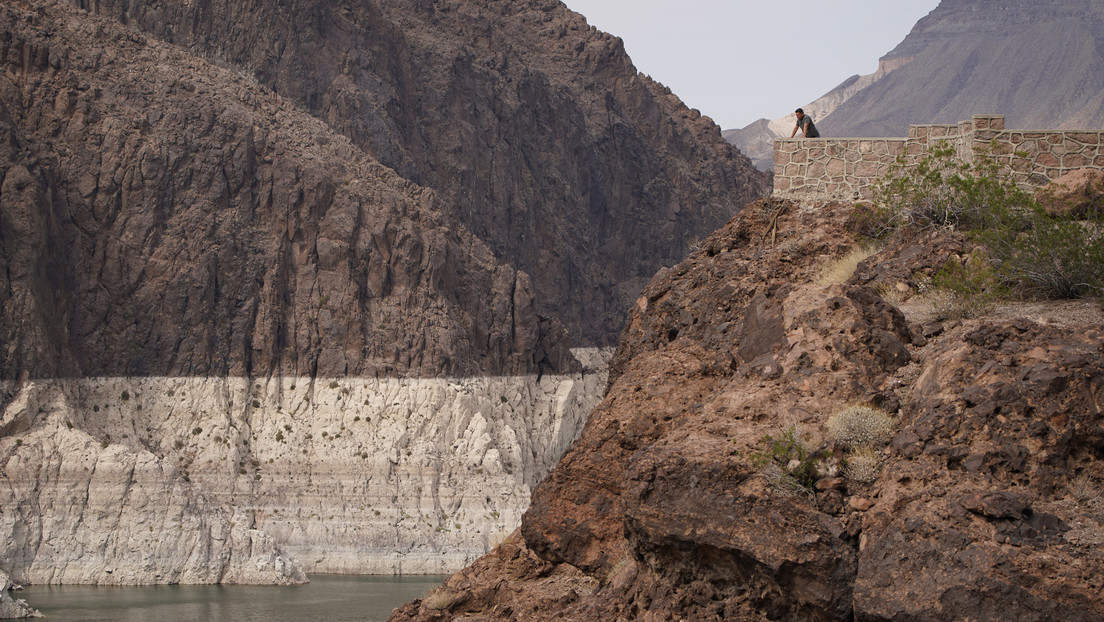 They report the first severe water shortage in the United States' largest reservoir (and also affects Mexico)