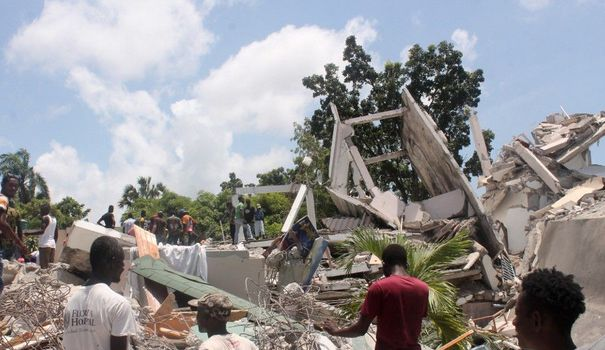 One week after the devastating earthquake in Haiti, what happened?