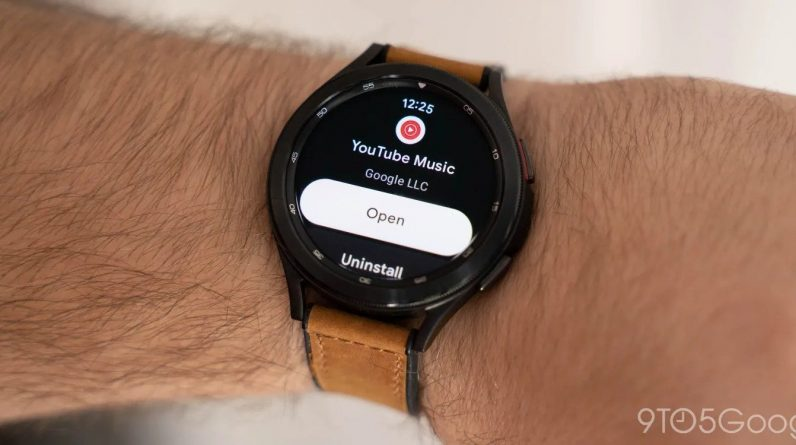 YouTube music for root OS is finally available, but not for all watches