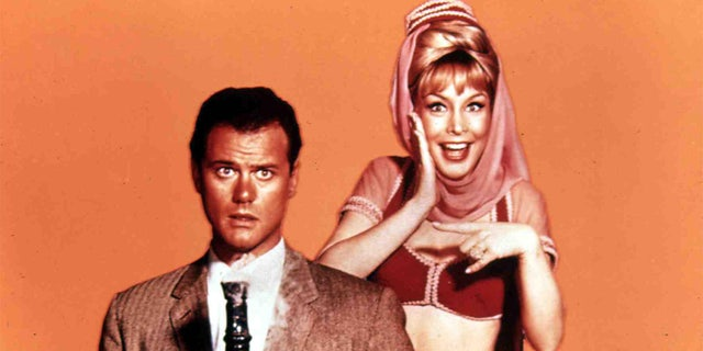 Barbara Eden and her co-star