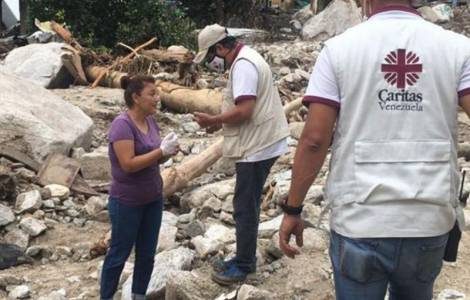 """US / Venezuela - """"Charity has no limits and does not discriminate against beneficiaries"""": Bishops complain of restrictions on flood relief"""