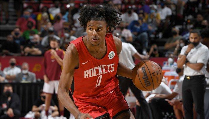 Jalen Green pour ses débuts avec les Rockets NBA