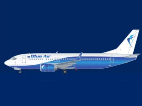 Airport: Low cost Romanian Blue Air launches Nice-London