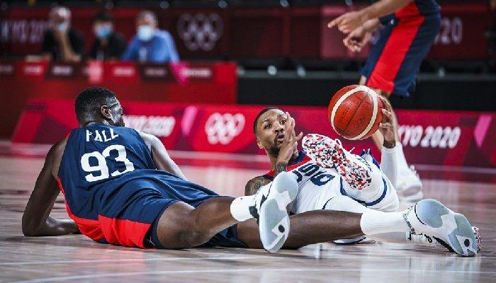 Damian Lillard et Team USA au duel avec la France en finale des JO