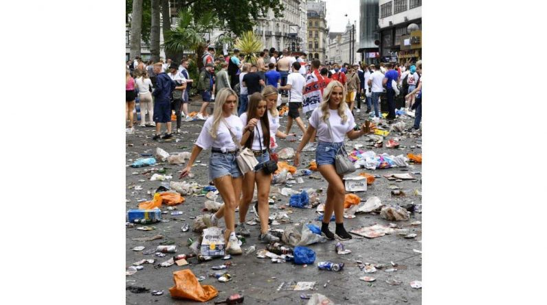 Euro 2021. English supporters return to London
