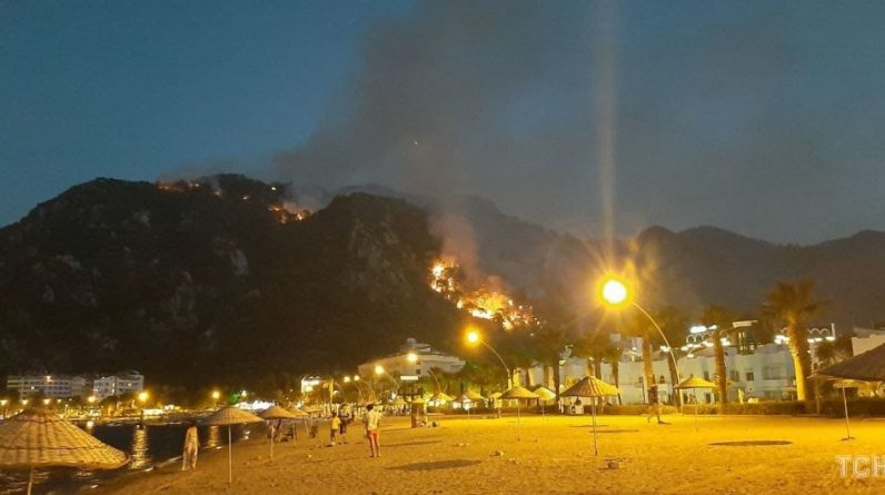 Fire breaks out in resort areas for fifth day - TSN Exclusive - tsn.ua