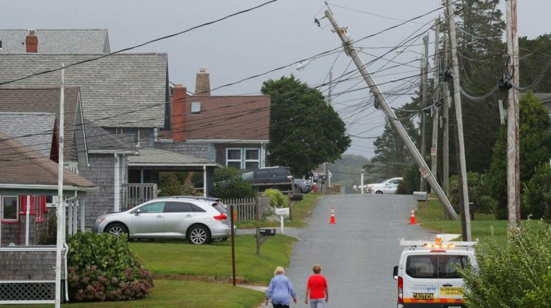 Hurricane Henry - Tens of thousands of Americans have no electricity due to liberation