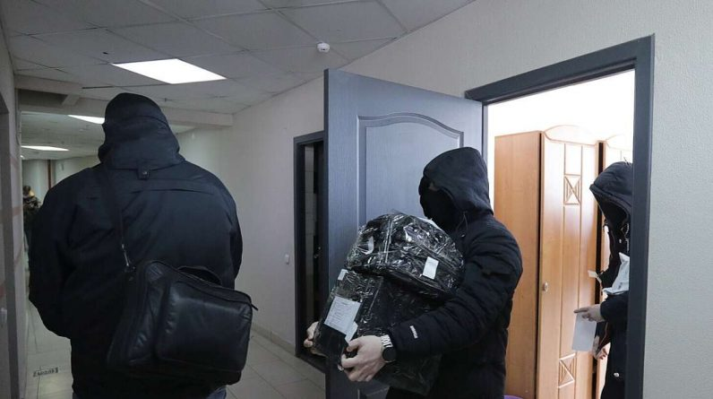 In Belarus, another search was conducted at the editorial office of the independent news agency Belapan