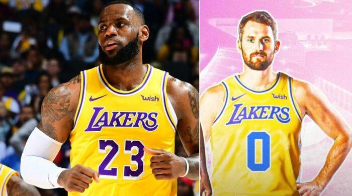 LeBron James et Kevin Love aux Lakers ?