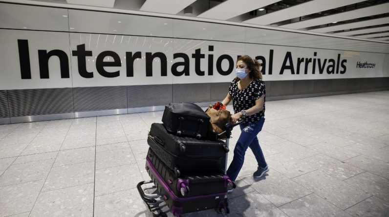 London removes isolation for vaccinated travelers from France