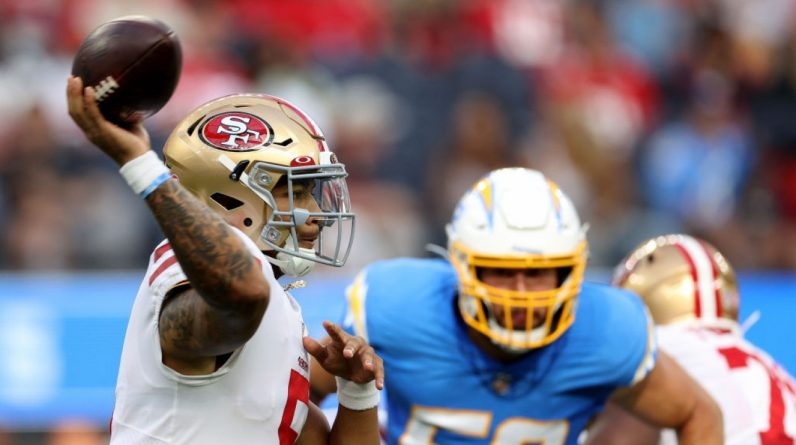 NFL: Trey Lance 49ers shines after stumbling Jimmy Caropolo