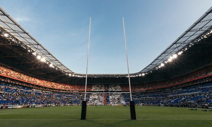 Photo poteaux de rugby
