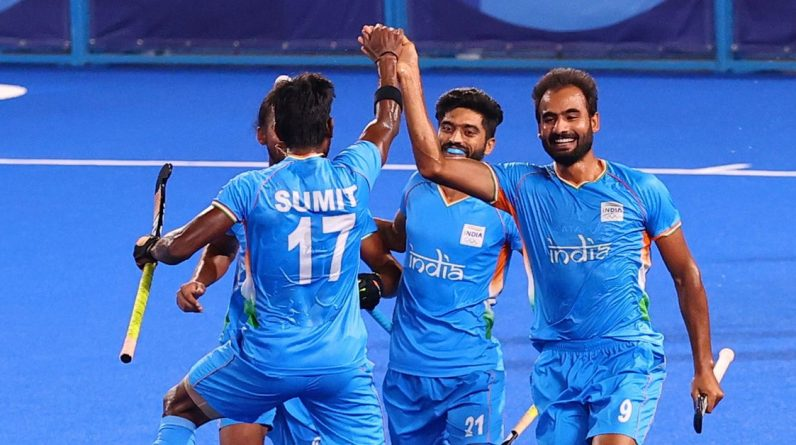 Olympic-Hockey-India and Belgium join Australia and Germany in the semifinals
