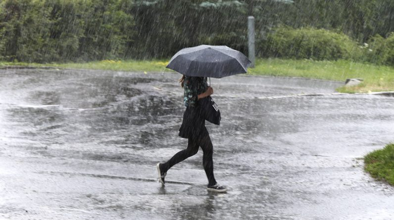 Risk of heavy rains in large parts of the country