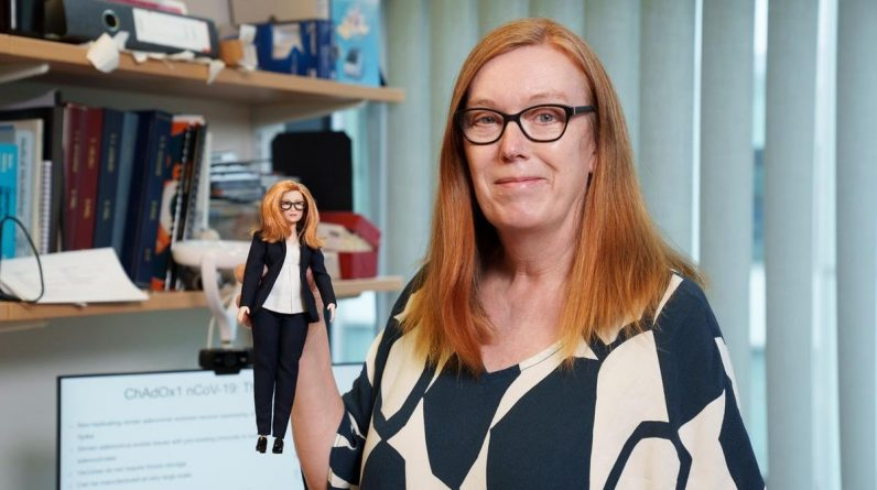 She developed a vaccine for which she got her own Barbie doll
