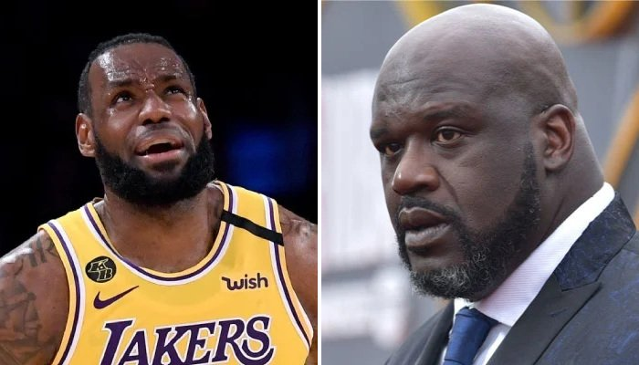 NBA Shaq dégomme LBJ et les Lakers