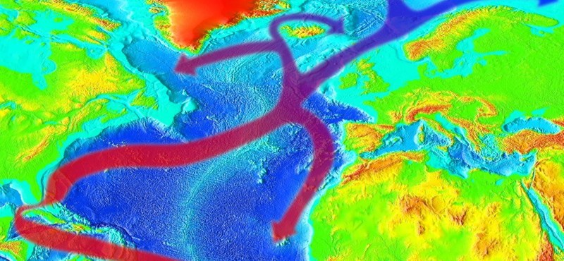 The big problem is: there may be a moment when the Gulf Stream collapses