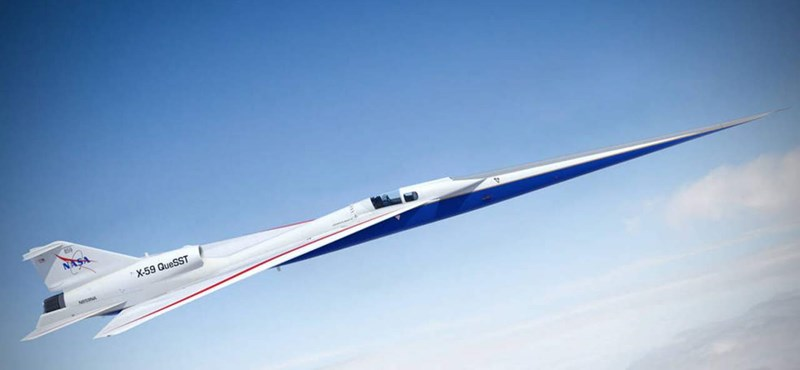 It flies at 1062km / h and is very quiet, what is it?  NASA's new aircraft