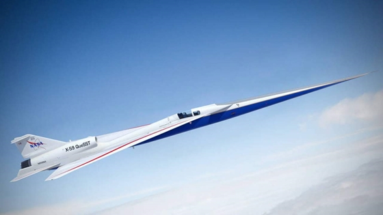 Technology: It flies at 1062 mph and is very quiet, what is it?  NASA's new aircraft