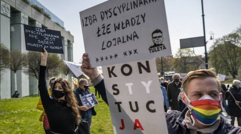 The Polish Chief Justice suspended the work of the disputed disciplinary chamber following an EU request