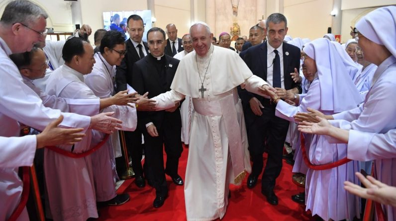 The Pope encourages us to take up the challenge of cultivating religion