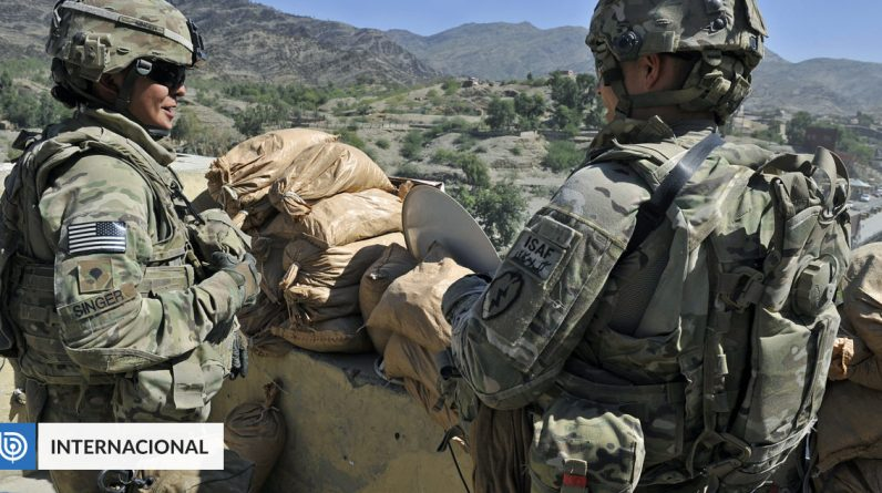 The United States destroyed the aircraft, armored vehicles and anti-missile system internationally before leaving Kabul