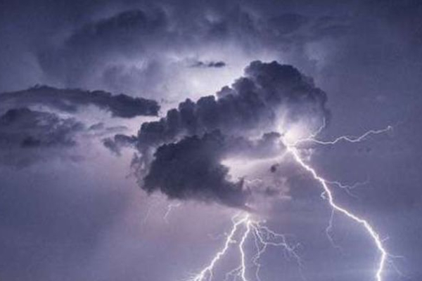 Thunder showers possible!  Announcement issued by the Department of Meteorology