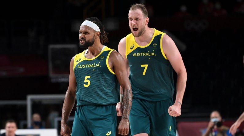 Tokyo 2020 - Basketball: Australia beat Slovenia in 3rd place: 107-93