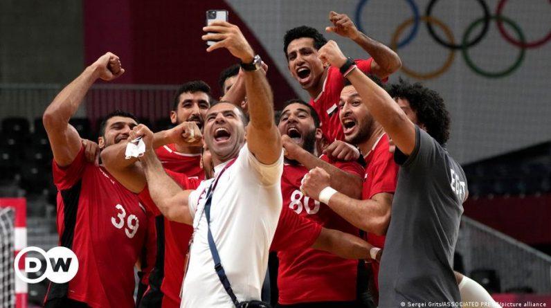 Tokyo 2020 Olympics: Egyptian handball players make history DW Games |  DW