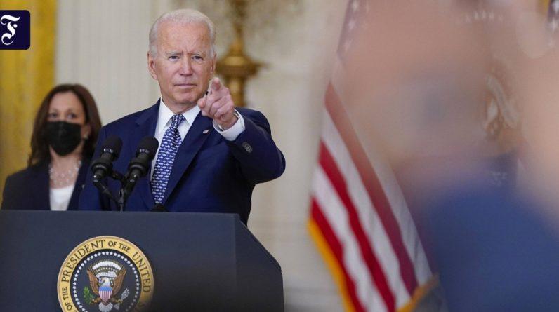 US President Joe Biden: Afghanistan must fight after Taliban victory