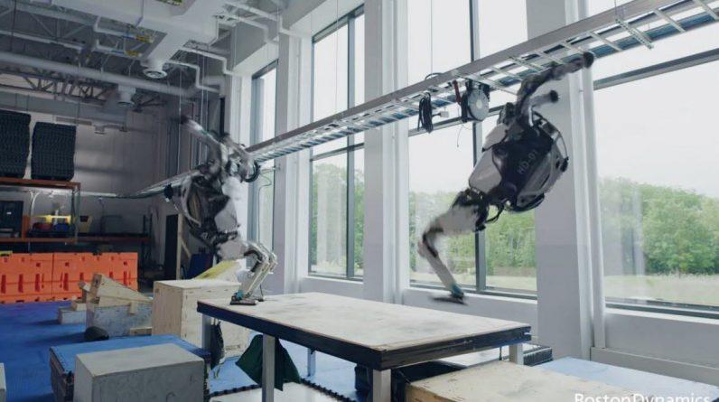 Video.  The Boston Dynamics Atlas flips the incredible backs of robots