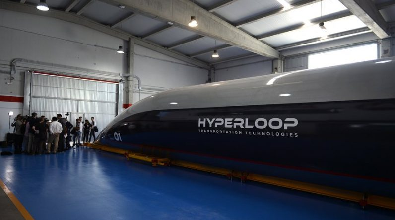 Virgin reveals more about its future Hyperloop project