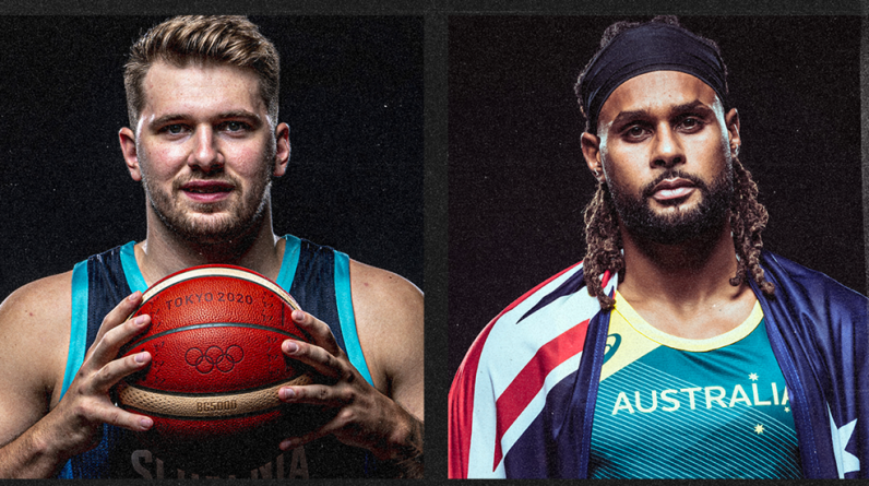 Who will win the first Olympic medal from Australia or Slovenia?  Tokyo 2020 Men's Olympic Basketball Tournament 2020