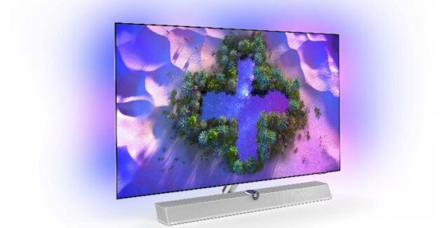 Philips OLED + 986 and OLED + 936 - Premium TVs co-produced by Powers & Wilkins: Gadget.ro - Hi-Tech Lifestyle