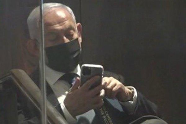 End to rumors: Netanyahu has released his iPhone