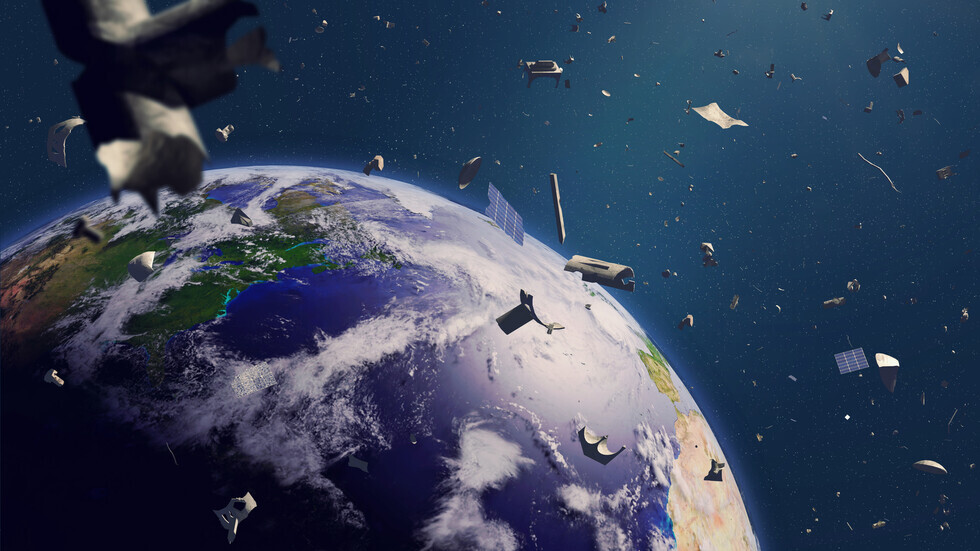 How many satellites are there in space?
