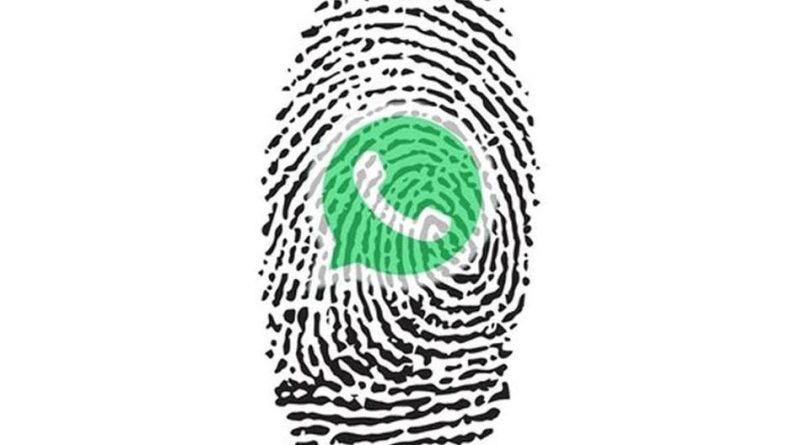 WhatsApp |  So you can lock your account with fingerprint without installing applications |  Game-game