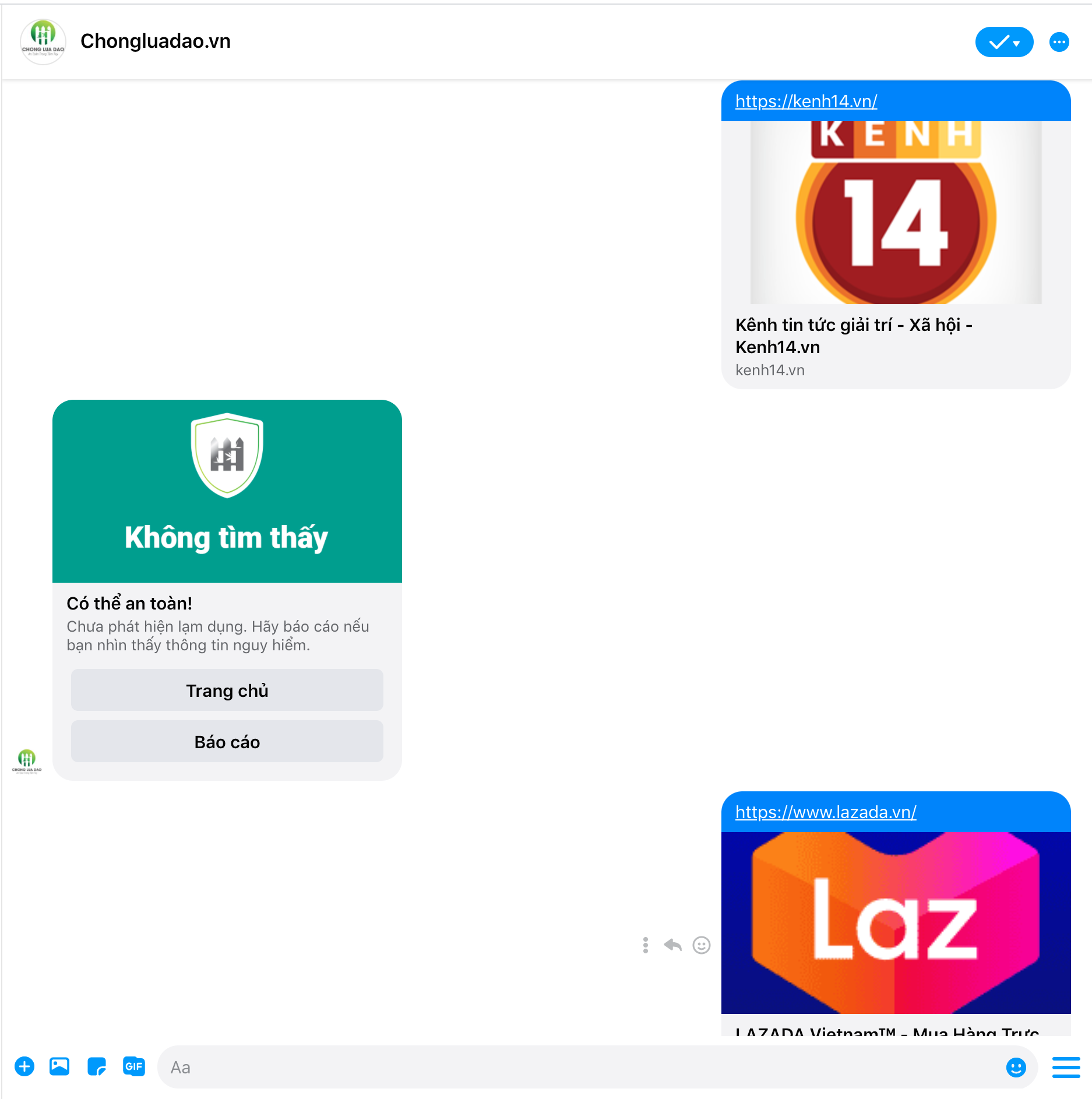 Hieu introduces anti-phishing chatbot in PC Messenger, which allows users to identify unsafe websites in 5 seconds!  - Photo 3.