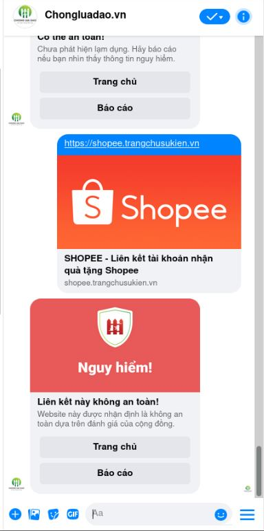 Hieu introduces anti-phishing chatbot on PC Messenger, allowing users to identify unsafe websites in 5 seconds!  - Photo 4.