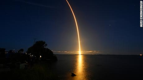 Civil Inspiration 4 Team on September 15th.  It exploded from the Kennedy Space Center in Cape Canaveral, Florida.