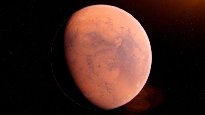 Mars earthquake saddens Aruna planet .. Massive earthquake on Mars