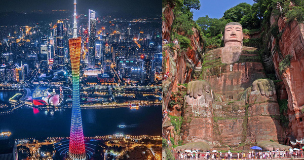 """A series of places that prove China to be a """"foreign country"""", all of which are the most possessed works in the world"""