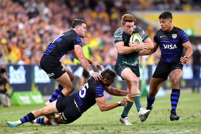 Australia dominate Argentina at the Rugby Championship