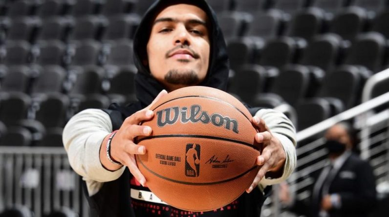 Trae Young Wilson NBA 26 juillet 2021
