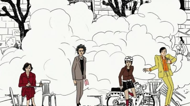 Check out Wes Anderson's animated music video for Aline from The French Dispatch