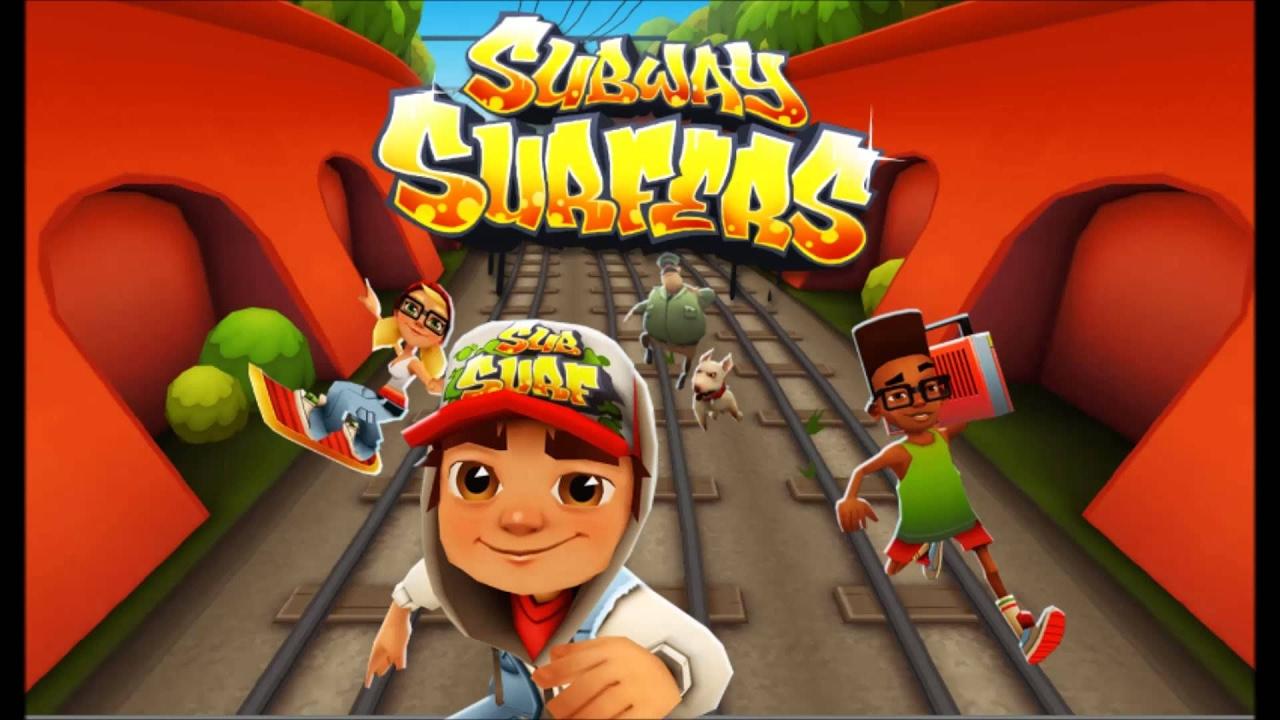 The original subway game