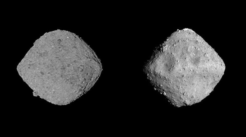Explican el origen de la forma de diamante de los asteroides Bennu y Ryugu